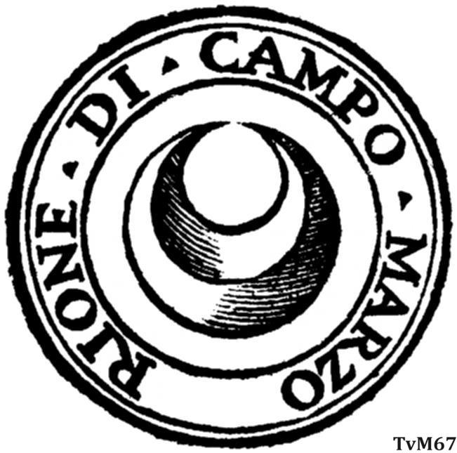 Wapen van de Rione di Campo Marzio