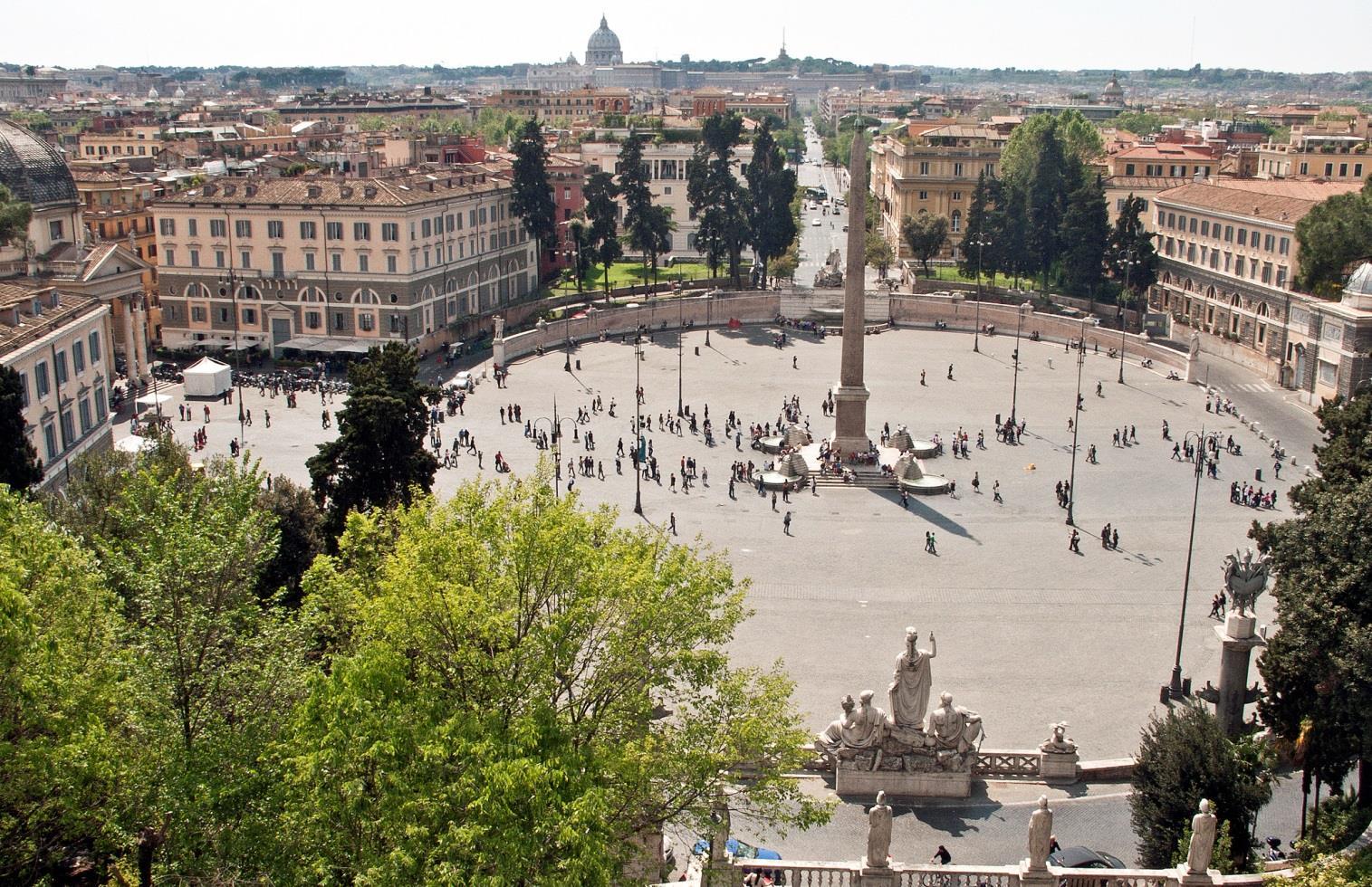 Piazza del Popolo-Campo Marzio