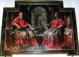 Ante sagrestia, Farnese-kardinalen (internet)