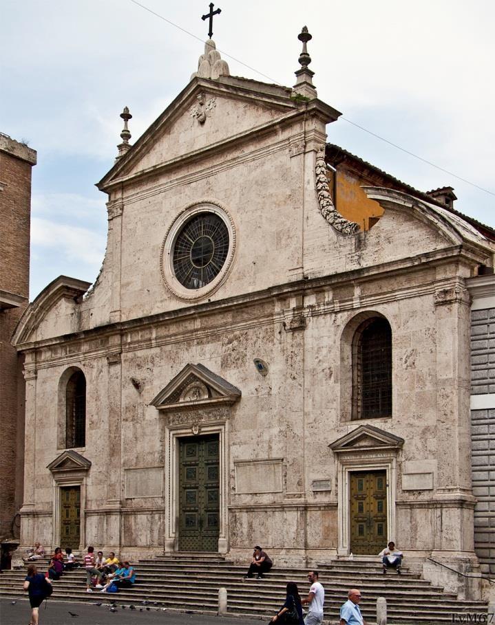 Voorgevel Chiesa di Santa Maria del Polopo