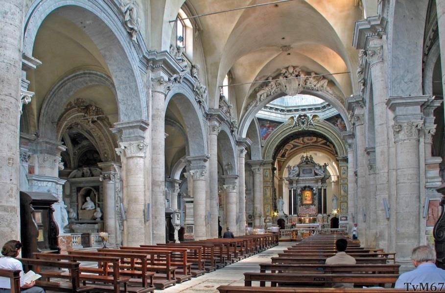 Chiesa di Santa Maria del Popolo - Middenschip, overzicht