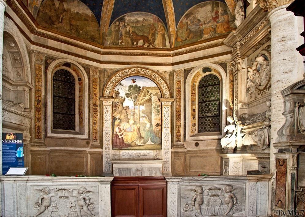 Chiesa di Santa Maria del Popolo - Cappella della Rovere