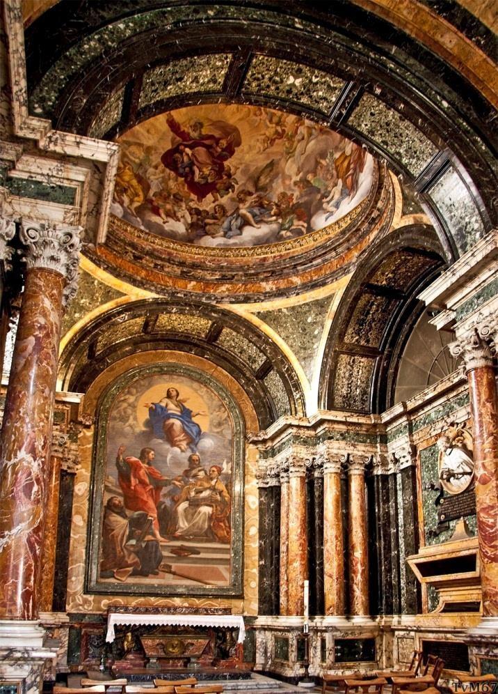 Chiesa di Santa Maria del Popolo - Cappella Cybo