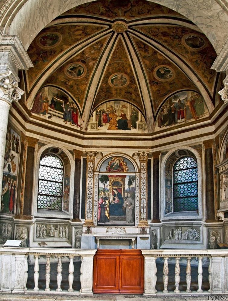 Chiesa di Santa Maria del Popolo - Cappella Basso della Rovere