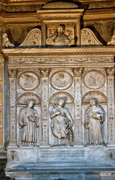 Chiesa di Santa Maria del Popolo-Cappella Costa, Romano, altaarstuk