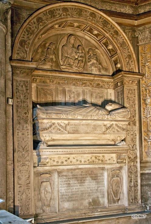 Cappella Costa, School van Bregno, monument voor kardinaal da Costa