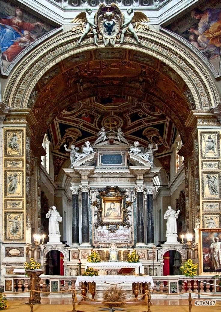 Chiesa di Santa Maria del Popolo-Apsis, Cappella della Madonna, hoogaltaar