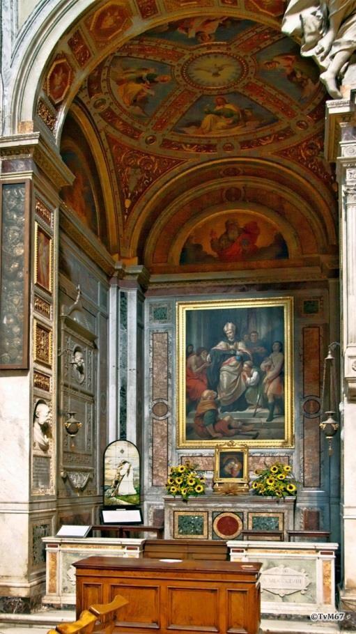 Chiesa di Santa Maria del Popolo-Cappella Feoli
