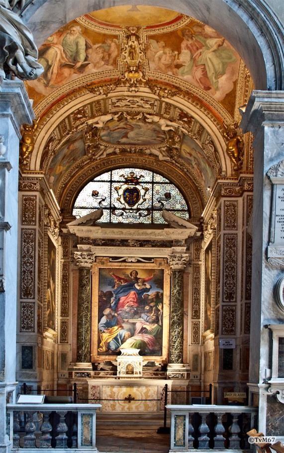 Chiesa di Santa Maria del Popolo-Cappella Cerasi