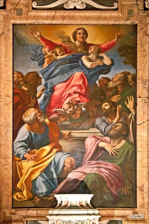 Chiesa di Santa Maria del Popolo-Cappella Cerasi, Carracci, Maria Hemelvaart