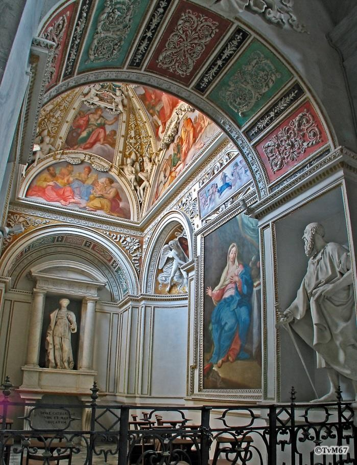 Chiesa di Santa Maria del Popolo-Cappella Theodoli
