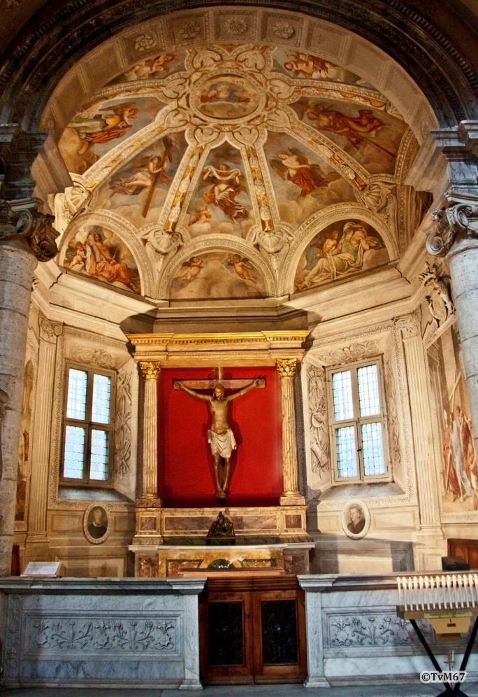 Chiesa di Santa Maria del Popolo-Cappella del Santo Crocifisso