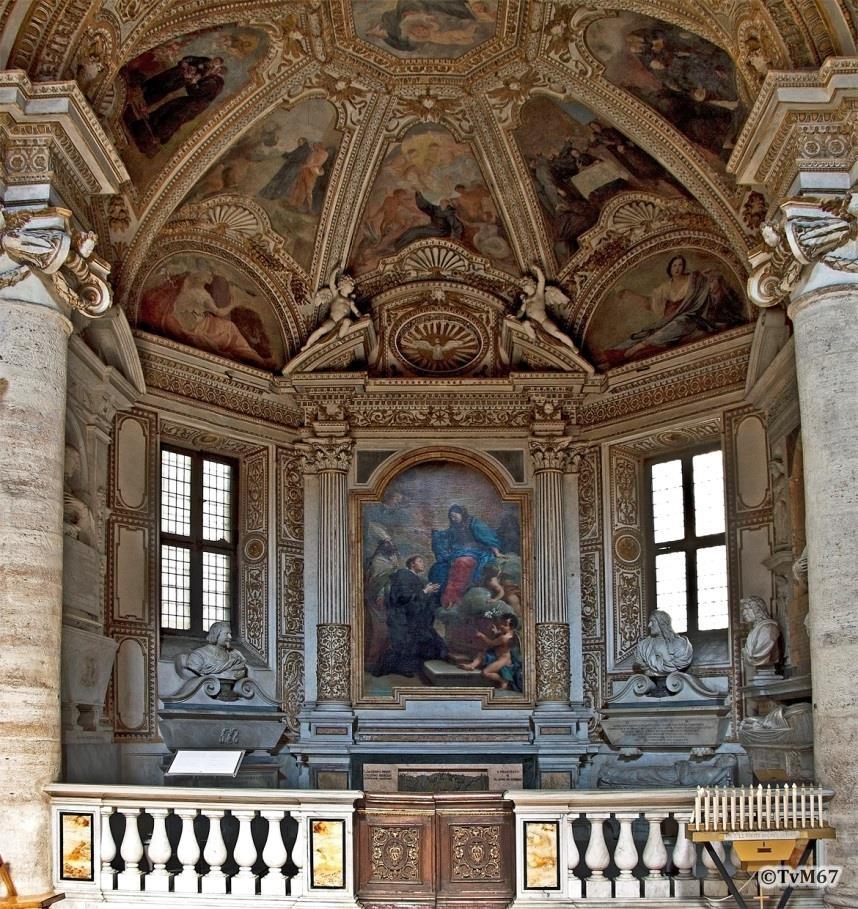 Chiesa di Santa Maria del Popolo - Cappella Mellini