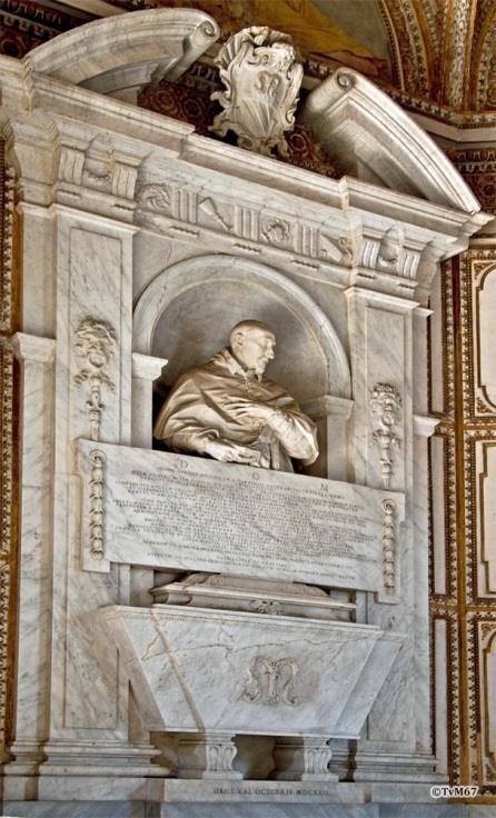 Chiesa di Santa Maria del Popolo - Cappella Mellini, Algardi, monument van Garzia Mellini