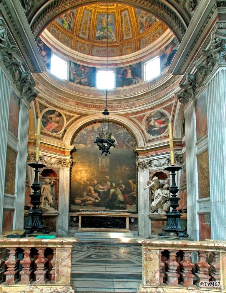 Chiesa di Santa Maria del Popolo - Cappella Chigi