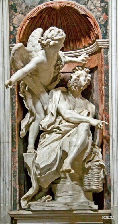 Bernini Habakuk en de engel