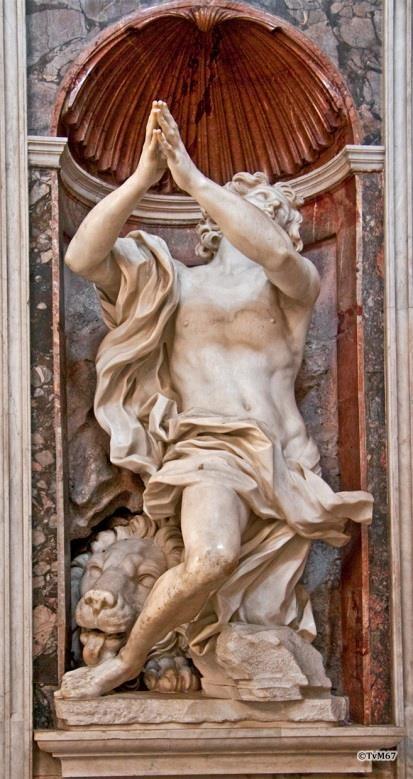 Bernini Daniël en de leeuw