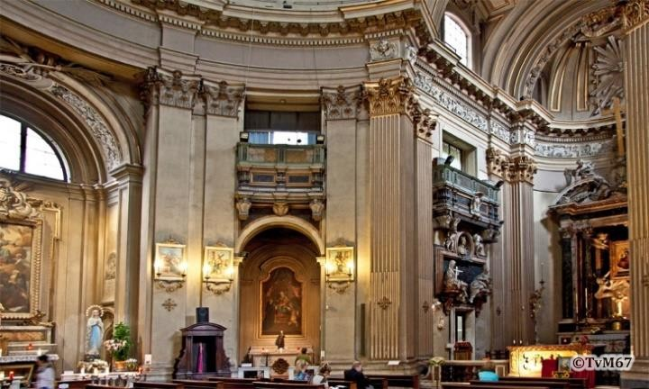 Interieur links - Chiesa-di-St-Maria-dei_Miracoli_006