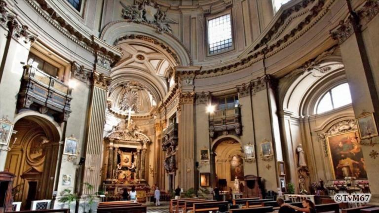 Interieur, rechts - Chiesa-di-St-Maria-dei_Miracoli