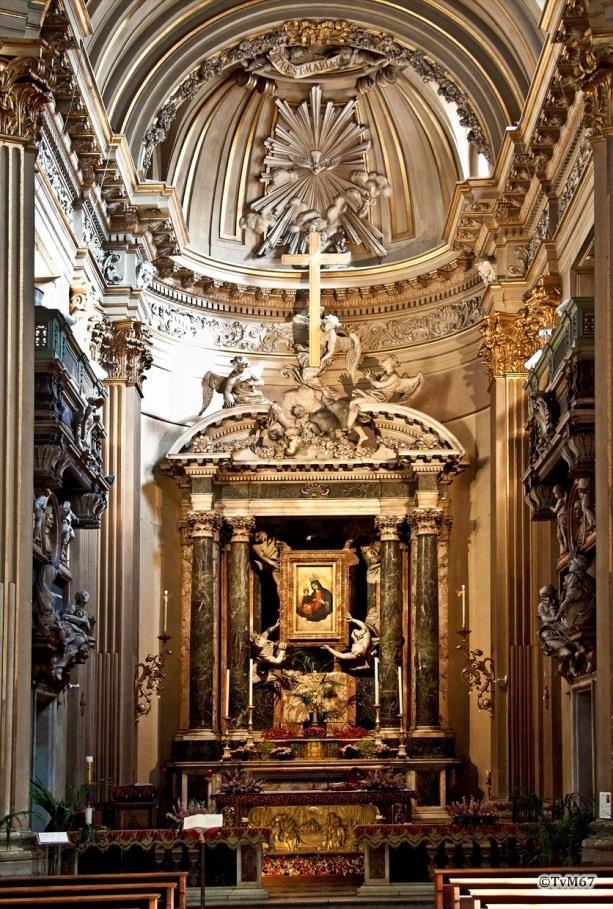 Apsis met hoogaltaar - Chiesa-di-St-Maria-dei_Miracoli
