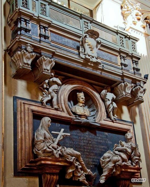 Apsis, tombe van Girolamo Gastaldi -Chiesa-di-St-Maria-dei_Miracoli_016