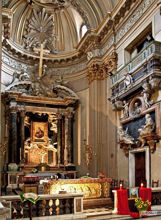 Apsis met tombe van Benedetto Gastaldi - Chiesa-di-St-Maria-dei_Miracoli