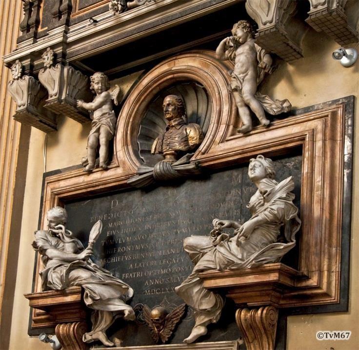 Apsis, tombe van Benedetto Gastaldi, detail - Chiesa-di-St-Maria-dei_Miracoli