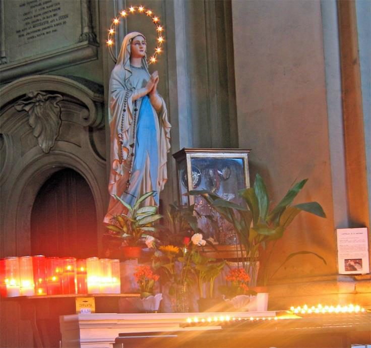 Cappella di Sant'Antonio, Madonna - Chiesa-di-St-Maria-dei_Miracoli