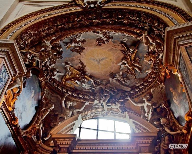 Cappella del Santissimo Crocifisso, gewelf