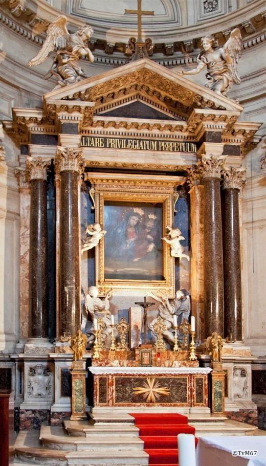 Apsis, hoogaltaar - Chiesa-di-St-Maria-di-Montesanto