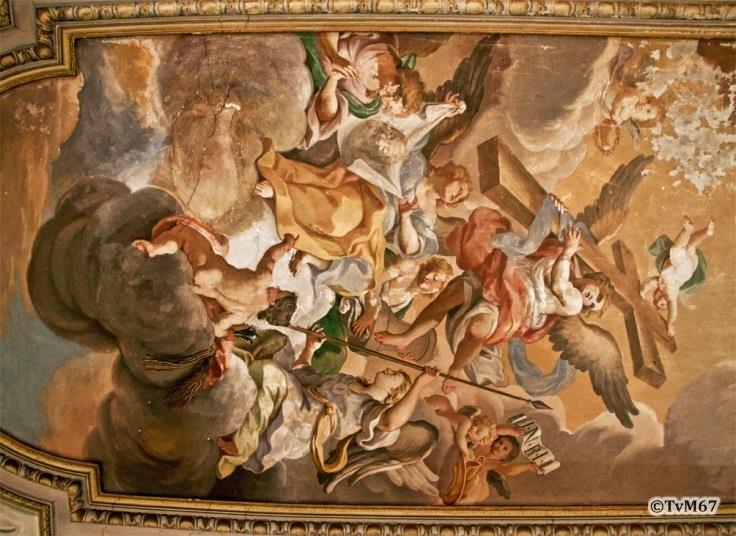 Sagrestia, plafondfresco - Chiesa-di-St-Maria-di-Montesanto