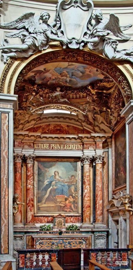 Cappella di Santa Maddalena dei Pazzi - Chiesa-di-St-Maria-di-Montesanto