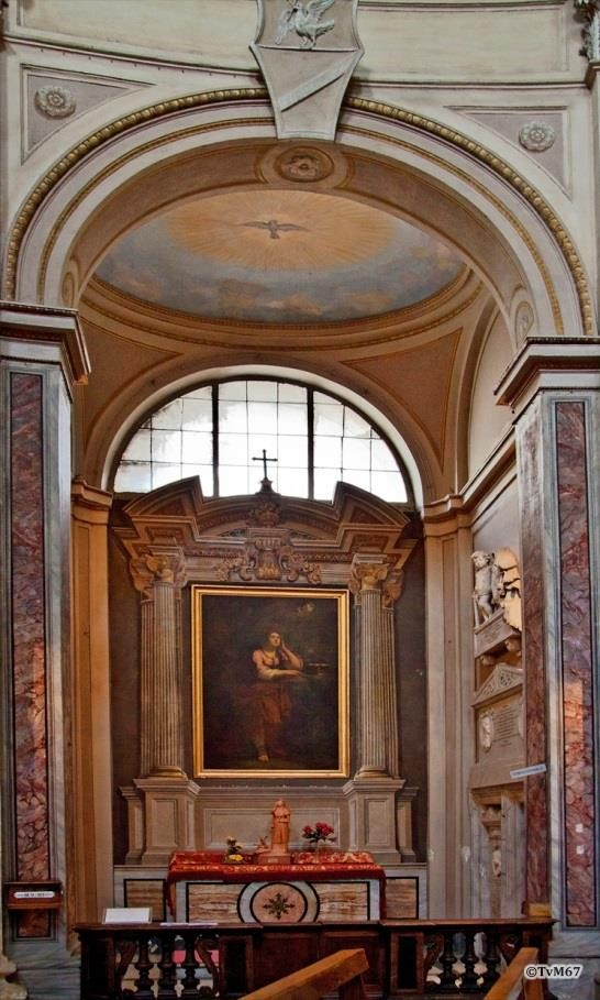 Cappella di Santa Lucia - Chiesa-di-St-Maria-di-Montesanto