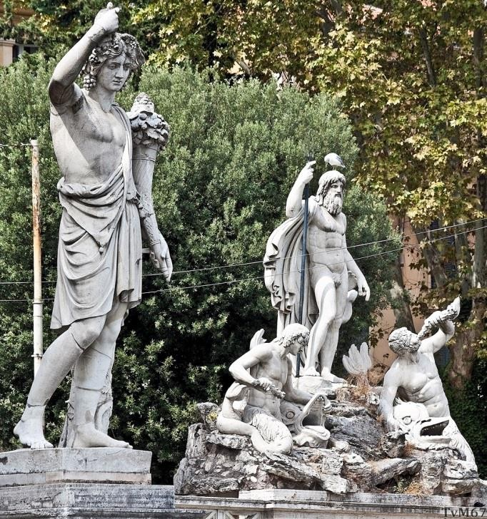 Jaargetijde 'Zomer' en Fontana del Nettuno