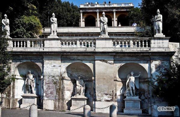 Pincio, Fontana della Mostra dell'Acqua Vergine, overzicht *