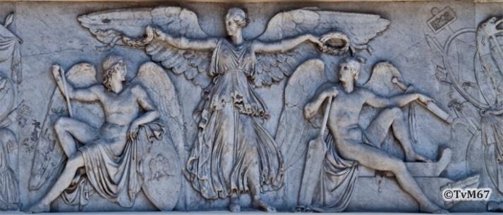 Fontana della Mostra dell'Acqua Vergine, reliëf