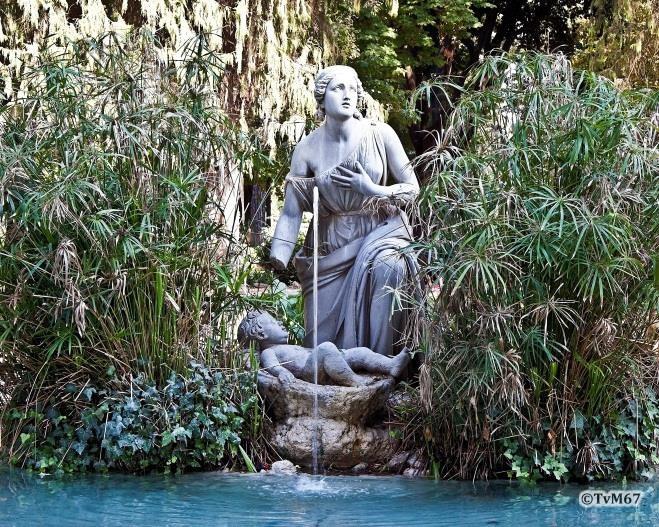 Pincio, Fontana del Mosè