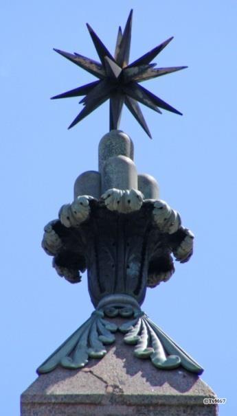 Pincio - Obelisco Pinciano, top