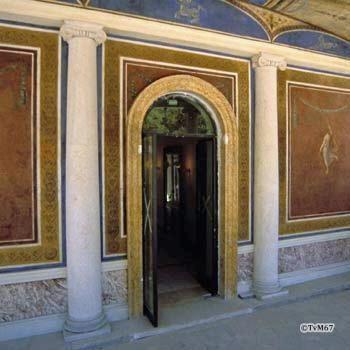 Pincio, Casina Valadier, corridoio *