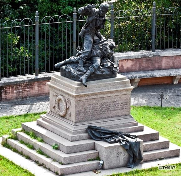 Rosa, monument voor de gebroeders Cairoli