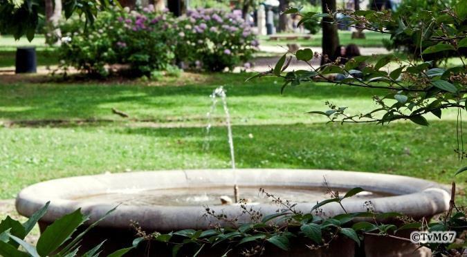 Fonteintje op de Pincio