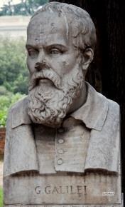 Pincio, Beeldengalerij: Galilei