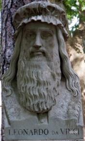 Pincio, Beeldengalerij: Leonardo da Vinci