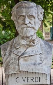 Pincio, Beeldengalerij: G. Verdi