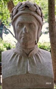 Pincio, Beeldengalerij: Dante