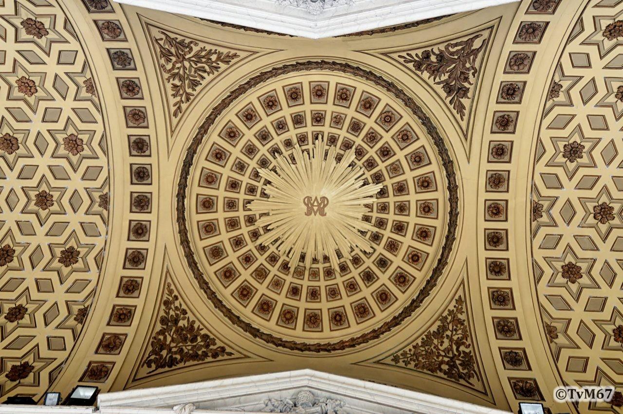 Roma, Basilica di Santa Maria Maggiore, Portico, plafond (internet)
