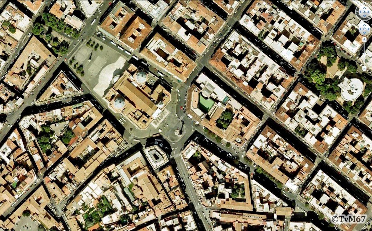 Roma, Basilica di Santa Maria Maggiore, Satellietfoto
