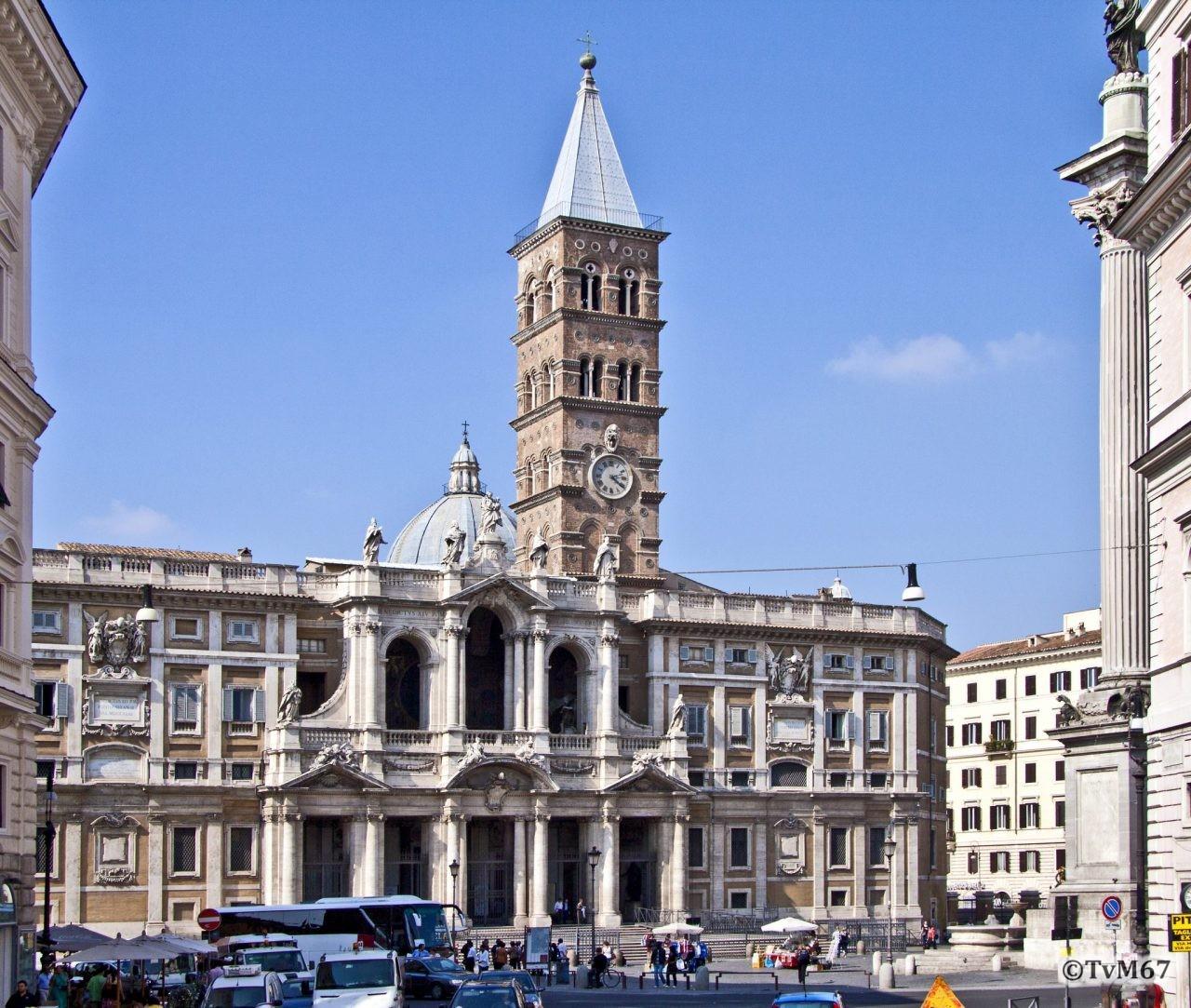 Roma, Basilica di Santa Maria Maggiore, Voorgevel 2