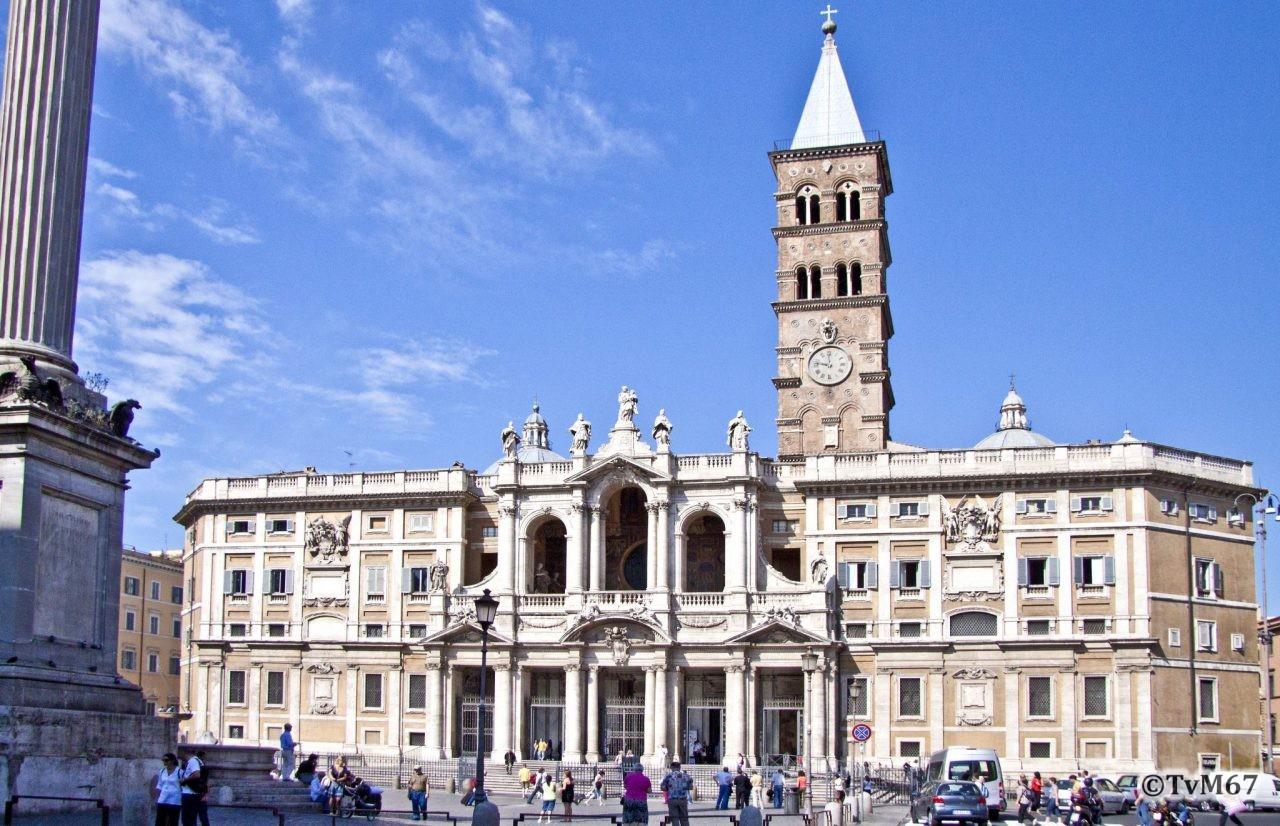 Roma, Basilica di Santa Maria Maggiore, Voorgevel 3