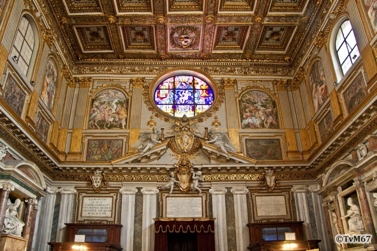 Roma, Basilica di Santa Maria Maggiore, Voorgevel, Binnenzijde, 2009